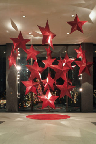 Holiday-Red Stars