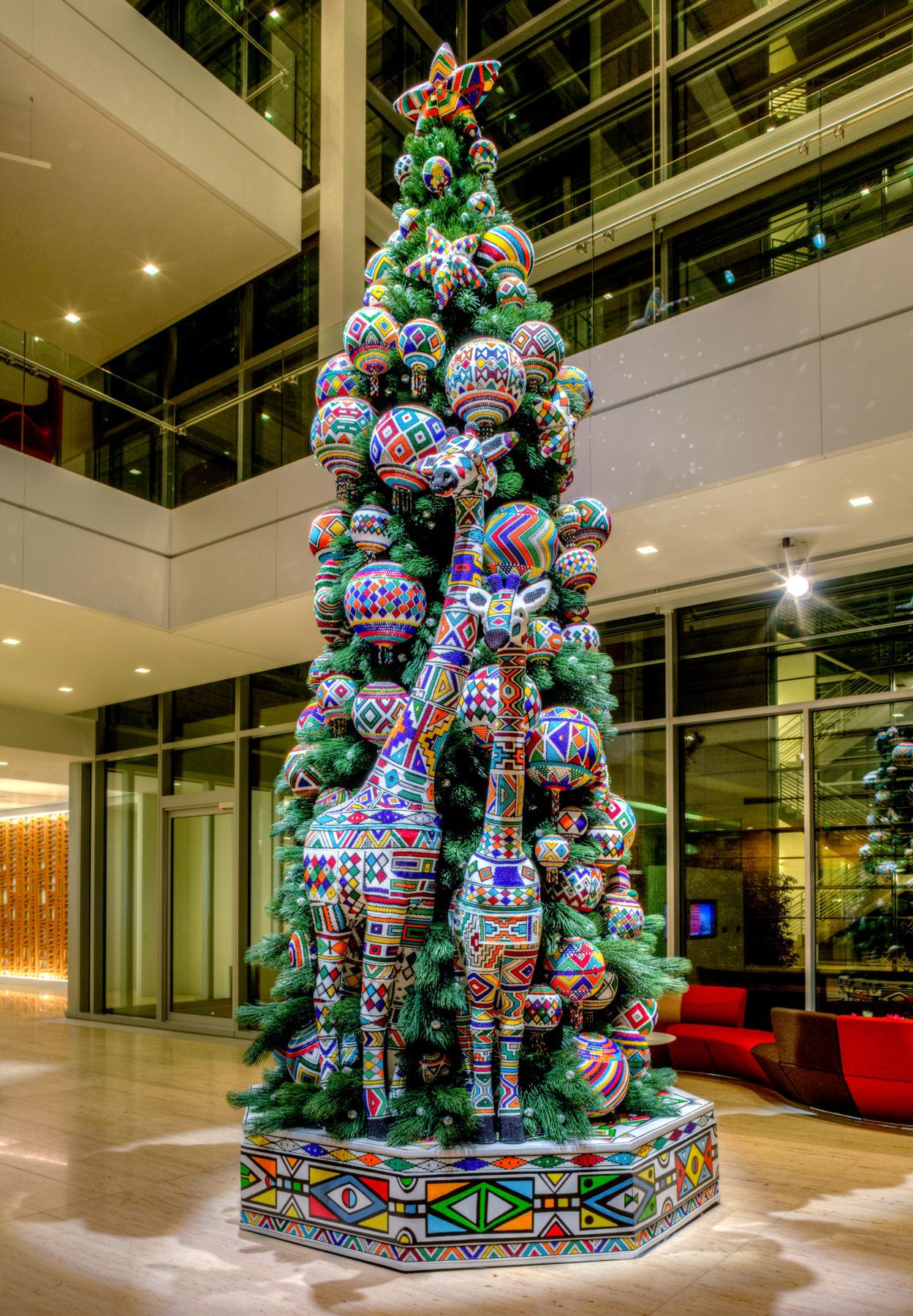 Ndebele Beaded Art Tree