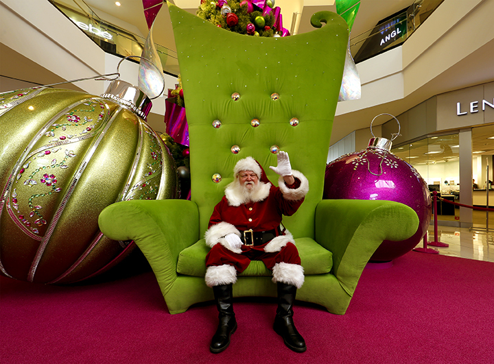 Santa at GalleriaW