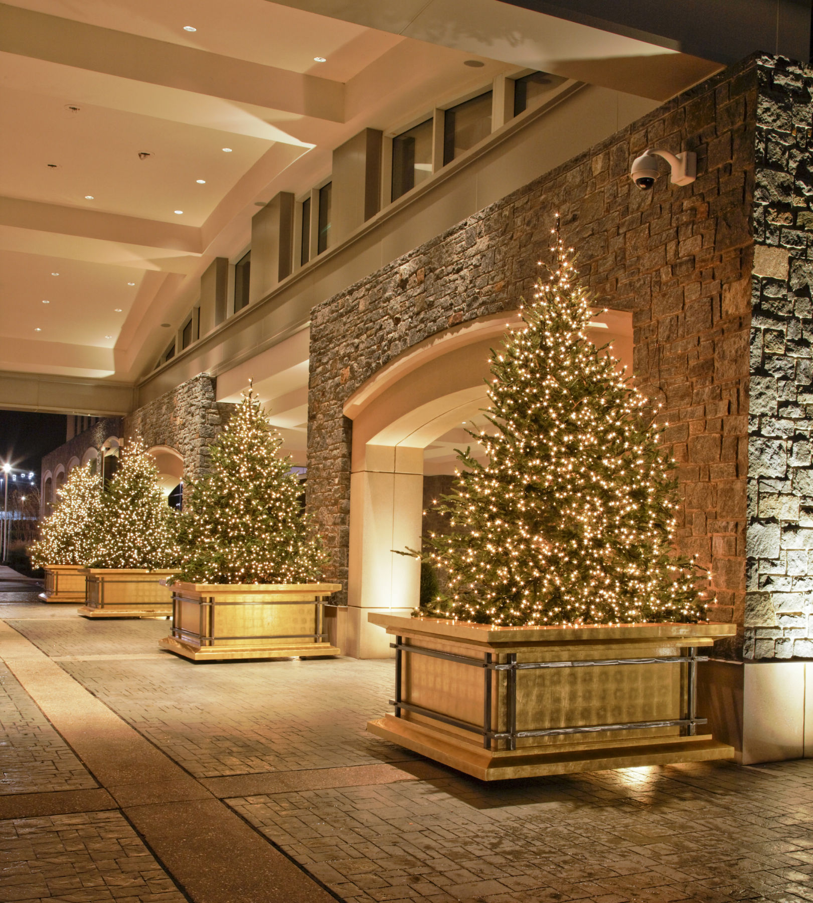porte cochere Gaylords National Christmas 43